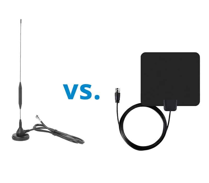 Stab-und Zimmerantenne für DVB-T-Empfang