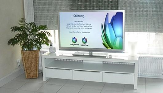 TV Störung Fernsehen