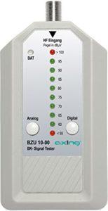 Bild des Produktes 'Axing BZU 10-00 BK-Signaltester Kabelfernsehen analog/digital'