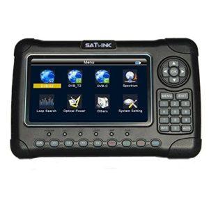 Bild des Produktes 'Satlink WS-6980 Satfinder DVB-S2 + DVB-C DVB-T2 Messgerät zur exakten Justierung Ihrer Satelliten-Antenne'