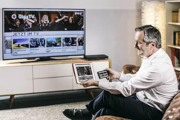 GigaTV Vodafone unter der Lupe