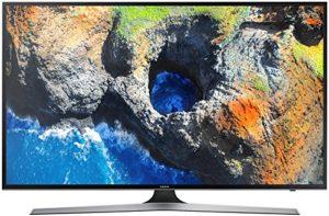 Bild des Produktes 'Samsung UE55MU6179U 55 Zoll Flat Fernseher (Ultra HD, HDR, Triple Tuner, Smart TV), Schwarz'