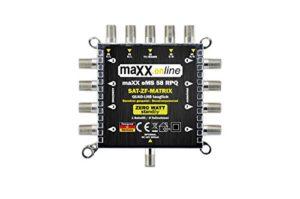 Bild des Produktes 'Digital Multischalter 5 in 8 Multiswitch 5/8 -stromsparend mit ZERO-Watt Standby-Funktion - eMS 58RPQ Quad-LNB geeignet'