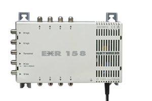 Bild des Produktes 'Kathrein EXR 158 Satelliten-ZF-Verteilsystem Multischalter (1 Satellit, 8 Teilnehmeranschlüsse, Klasse A)'