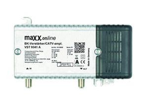 Bild des Produktes 'Hausanschlussverstärker VST 9341 A, 1 GHz 33 dB Verstärkung, Rückkanal, BK-Verstärker für Kabelfernsehen, DVB-C, DV'