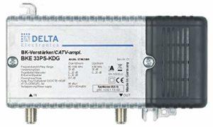 Bild des Produktes 'DCT Delta–BKE 33PS KDG VPE: 1, Hausanschlussverstärker KDG B (3.1) 1GHz 33dB, RW 65MHz 23dB Verstellvor'