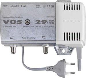 Bild des Produktes 'Kathrein VOS 29/RA-1G Hausanschluss-Verstärker (30dB, 85-1006 MHz, integrierter Rückweg 5-65 MHz aktiv, für Kabelfern'
