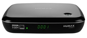 Bild des Produktes 'Humax HD NANO T2 HD-Receiver (DVB-T2/T, HbbTV, PVR-Ready, freenet TV, HDMI, USB) Schwarz'
