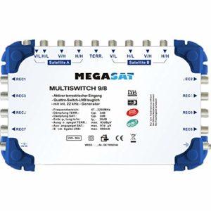 Bild des Produktes 'MegaSat 0600151 Profiline Multischalter 9/8'