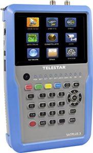 "Bild des Produktes 'Telestar 5401253 ""SATPLUS 3"" Messgerät (DVB-S/-S2/-C/-C HD/-T/-T2/H.265/HEVC/SAT-IP, 12,7cm (5 Zoll) LCD-Farb...'"