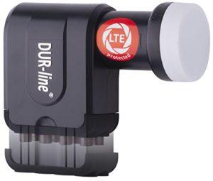 Bild des Produktes 'DUR-Line +Ultra Premium Octo - LNB - 8 Teilnehmer + mit LTE-Filter + [Full HD, HDTV, 3D, LTE-/UMTS-/GSM-/DECT-Filter ] -'