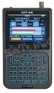 Bild des Produktes 'Satlink WS-6908SE RUBBER Second Edition by Froggit Sat Messgerät Satfinder DVB-S TFT 8,9cm Achtung: Viele verkaufen WS6'