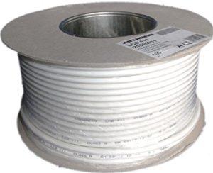 Bild des Produktes 'Kathrein LCD 111 Koaxialkabel 1,13/6,9 mm PVC 100 m Einwegspule weiß'