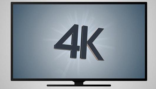 Fernsehen mit 4K Auflösung