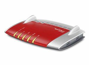 Bild des Produktes 'AVM FRITZ!Box 6490 Cable WLAN AC + N Router (DOCSIS-3.0-Kabelmodem für Kabelanschluss, bis 1.300 Mbit/s (5 GHz) VoIP-Te'