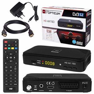 Bild des Produktes 'SATELLITEN SAT Receiver ✨ HB DIGITAL DVB-S/S2 Set: Hochwertiger DVB-S/S2 Receiver + HDMI Kabel mit vergoldeten Anschl&'
