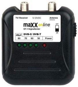 Bild des Produktes 'maxx.onLine ST-1 Signaltester Kabelfernsehen DVB-C/DVB-T, analog/digital 40-862 MHz'