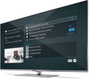 TechniSat Smart-Home Ansicht Fernseher