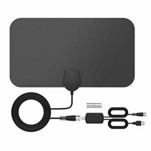 Bild des Produktes 'DVB-T2 Antenne Innen, DVB-T2 Receiver mit Antenne, Tragbare Digitale TV Antenne mit Intelligentem Signalverstärker,'