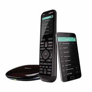 Bild des Produktes 'Logitech Harmony Elite Fernbedienung Hub und App (funktioniert mit Alexa, elegantes Design, Universalfernbedienung, One-'