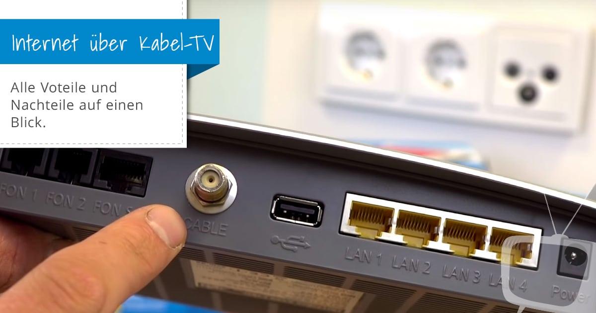 TV-Kabelanschluss als Internetzugang - Die bessere ...