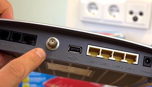 TV Kabelanschluss als Internetzugang