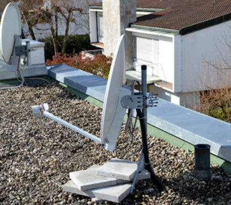 Halterungen für Satellitenschüsseln oder DVB-T Antennen – alle Varianten im Vergleich