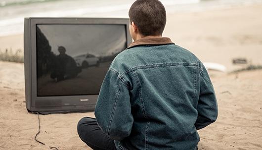 Fernsehen im Freien