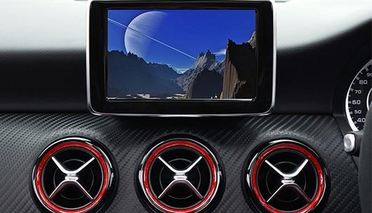 Fernsehen im Auto über Navi