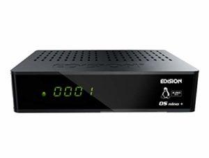 Bild des Produktes 'Edision OS NINO+ Full HD Linux E2 Combo-Receiver H.265/HEVC (1x DVB-S2, 1x DVB-T2/C, WLAN onboard, Bluetooth onboard, 2x'