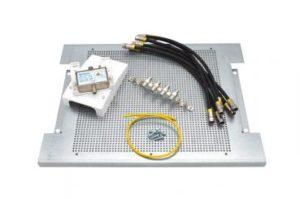Bild des Produktes 'maxx.onLine Kabelfernsehen Montage-Set für 4 Teilnehmer, Hausanschlussverstärker und Kabel-TV Verteiler mit 300x400x18'