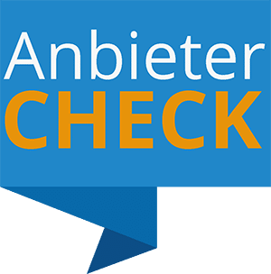 Anbieter Check Banner