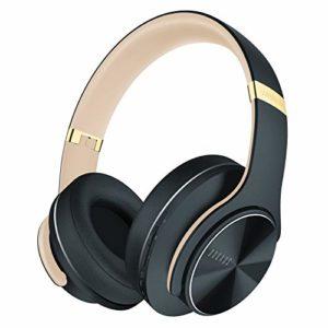 Bild des Produktes 'DOQAUS Bluetooth Kopfhörer Over Ear, [Bis zu 52 Std] Kabellose Kopfhörer mit 3 EQ-Modi, HiFi Stereo Faltbare Headset m'