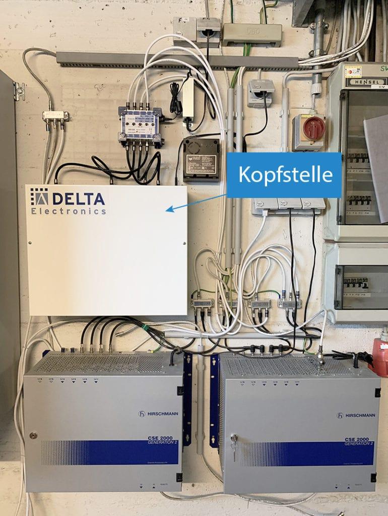 Referenzbild Kopfstelle DCT Delta